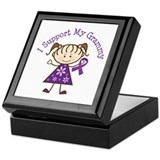 Alzheimers Support Grammy Keepsake Box