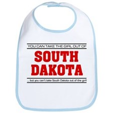 'Girl From South Dakota' Bib