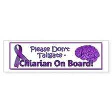 Cute Syringomyelia Bumper Sticker