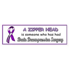 Funny Brain surgery Bumper Sticker