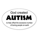 Autism offsets boredom Decal