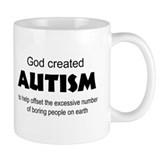 Autism offsets boredom Coffee Mug