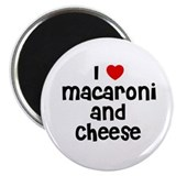 I * Macaroni And Cheese Magnet