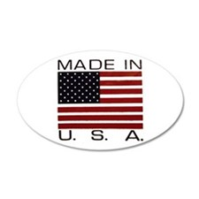 MADE IN U.S.A. 22x14 Oval Wall Peel