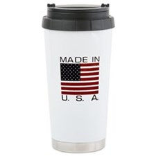 MADE IN U.S.A. Ceramic Travel Mug
