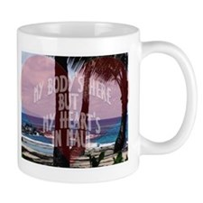 My Heart's On Maui Scene Mug