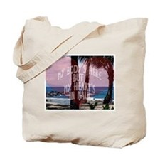 My Heart's On Maui Scene Tote Bag