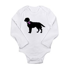 Labrador Retriever Breast Can Long Sleeve Infant B