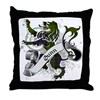 Gunn Tartan Lion Throw Pillow
