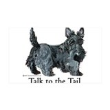 Scottish Terrier Attitude Decal Wall Sticker