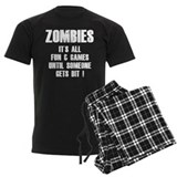 Zombies Fun and Games pajamas