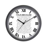 I Run Because Wall Clock