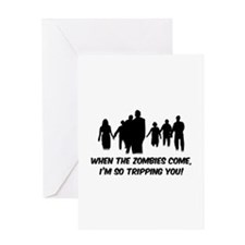 Zombies Quote Greeting Card