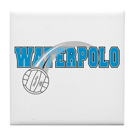 Waterpolo Tile Coaster