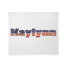 American Kaylynn Throw Blanket