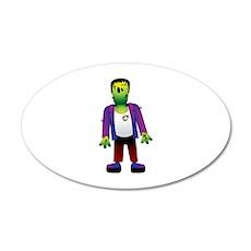 Halloween 22x14 Oval Wall Peel