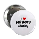 "I * Salisbury Steak 2.25"" Button (10 pack)"