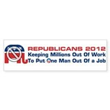 GOP Keeping Millions Out Bumper Sticker
