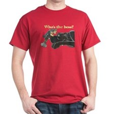 NB/Yorki Who's The Boss? T-Shirt