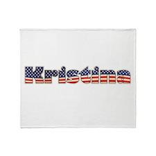 American Kristina Throw Blanket