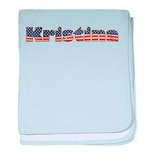 American Kristina baby blanket