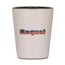 American Raquel Shot Glass