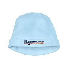 American Ayanna baby hat