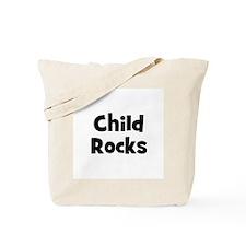 Child Rocks Tote Bag