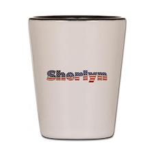 American Sherlyn Shot Glass