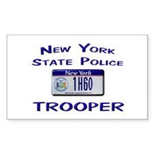 New York State Police Decal