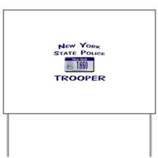 New York State Police Yard Sign
