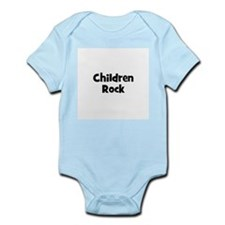 Children Rock Infant Creeper