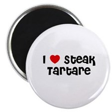 "I * Steak Tartare 2.25"" Magnet (10 pack)"