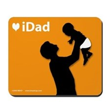 iDad Orange Father & Baby Mousepad