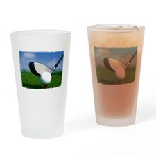 Unique Golf Drinking Glass