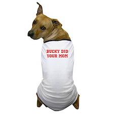 Unique Wisconsin badgers Dog T-Shirt