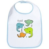 """E is for Elephant"" Bib"