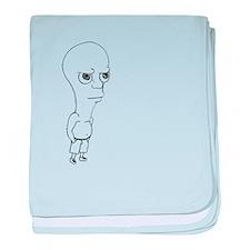 Dude baby blanket
