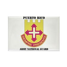 DUI-PUERTO RICO ANG WITH TEXT Rectangle Magnet (10