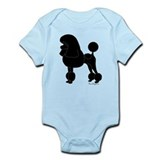 Poodle Silhouette Infant Bodysuit