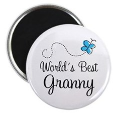 Granny (World's Best) Magnet