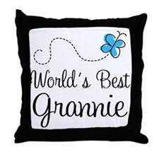Grannie (World's Best) Throw Pillow