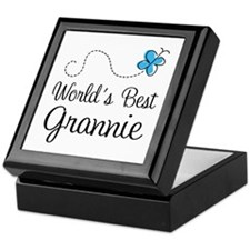 Grannie (World's Best) Keepsake Box