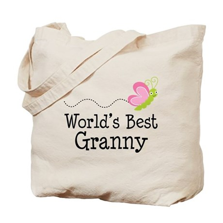 World's Best Granny Tote Bag