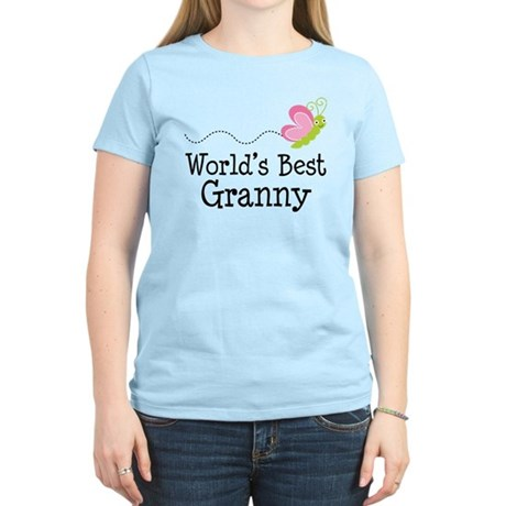 World's Best Granny Women's Light T-Shirt
