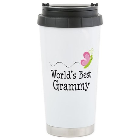 World's Best Grammy Ceramic Travel Mug