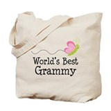 World's Best Grammy Tote Bag