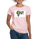 Out Female Women's Light T-Shirt