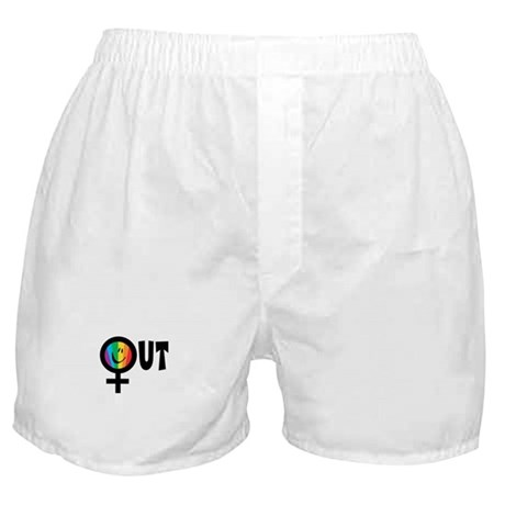 Out Female Boxer Shorts
