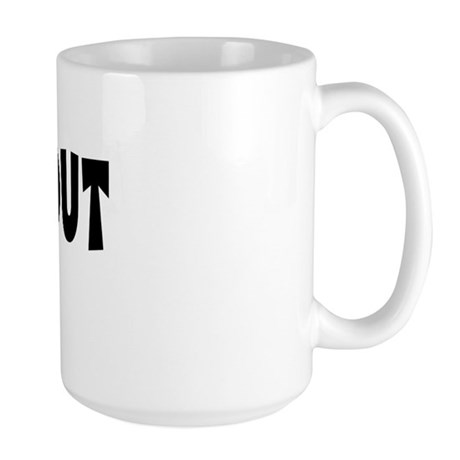 Out Female Large Mug